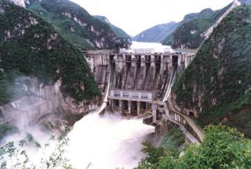 云南冲江河水电站